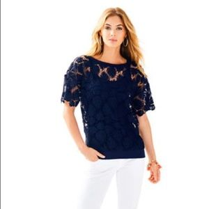 NWT Kay Lace Popover